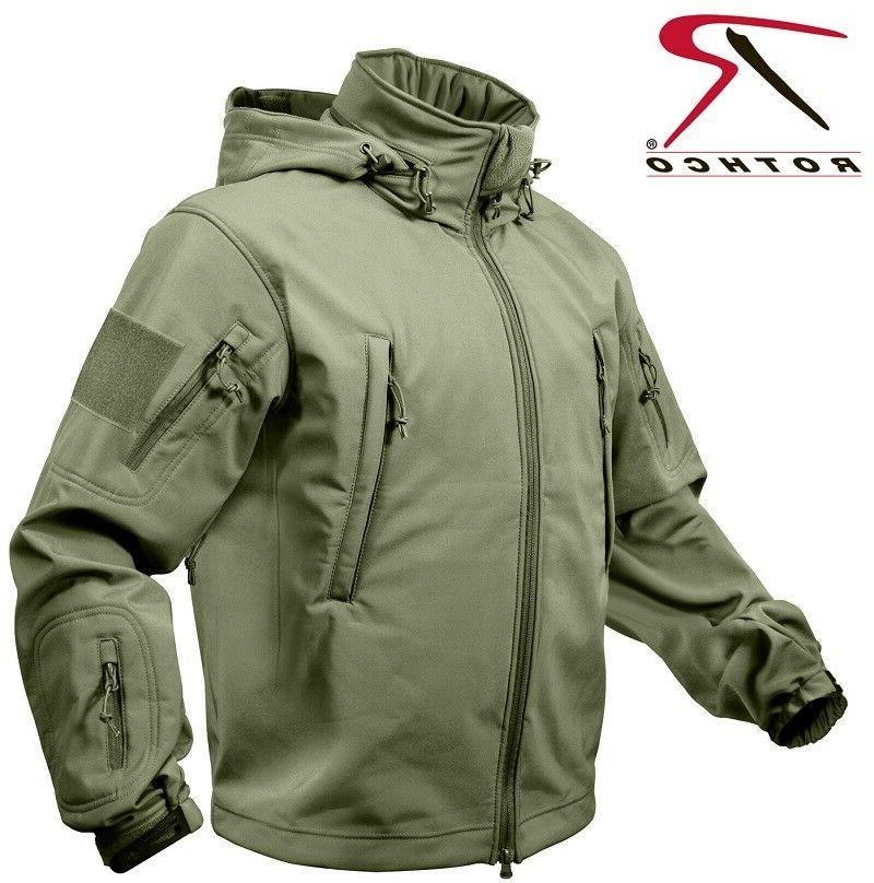 Olive Tactical Proof Shell Jacket
