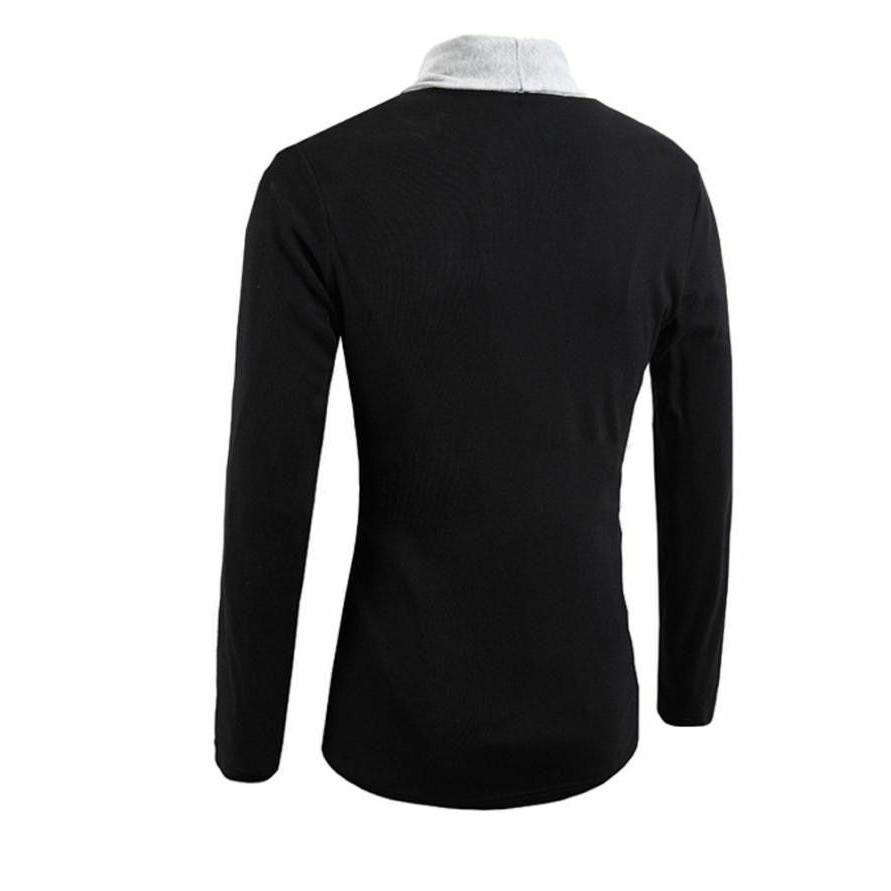 Outerwear For Men Fashionable Casual Clothing Blended Clothes