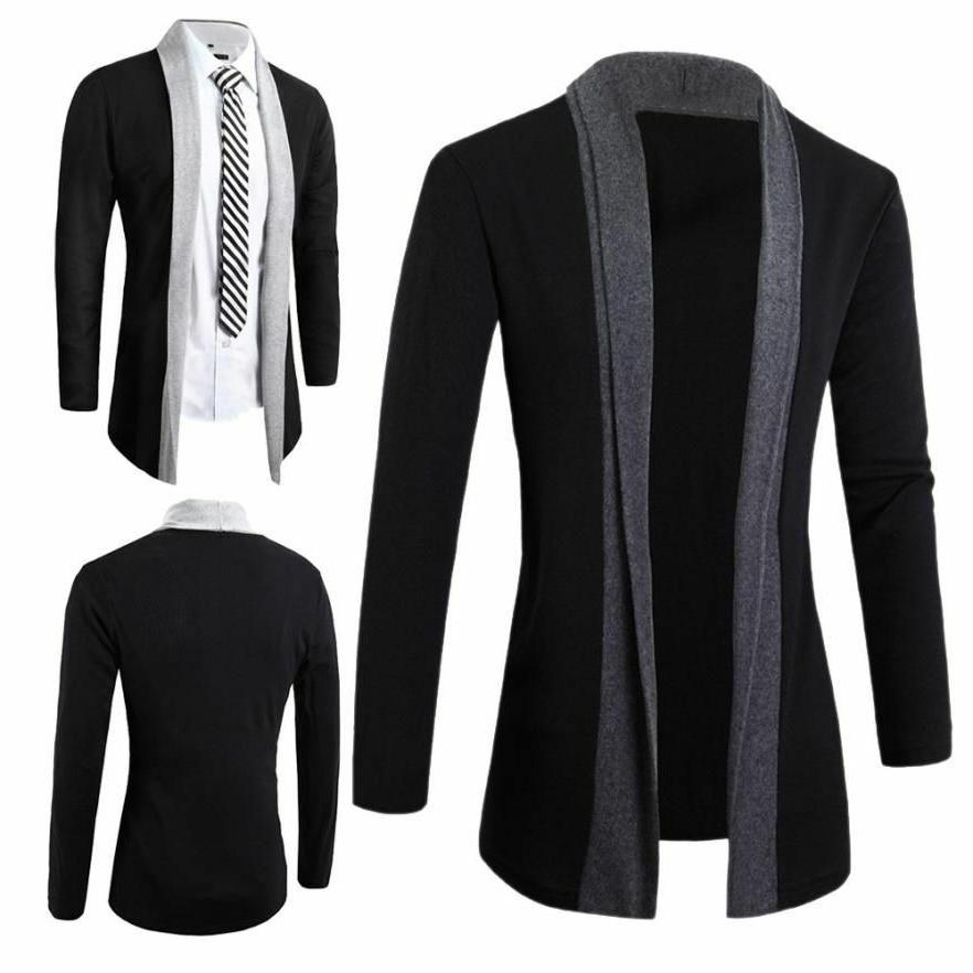 outerwear coat for men fashionable casual clothing