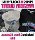 Pink Dolphin Outfit Pre Pack Blind Box Clothing Set Mens
