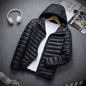 Packable Ultralight Hooded Duck Winter Jacket Outerwear