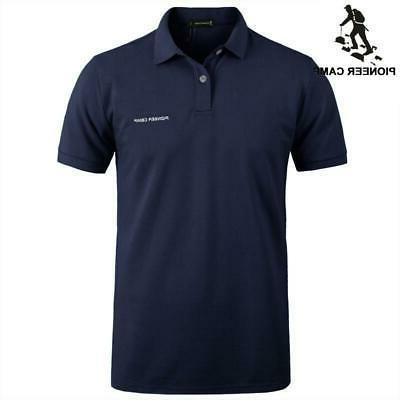 pioneer camp brand clothing men polo shirt