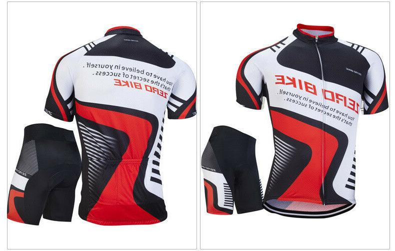 Pro Sports Jersey Suits Bicycle Gear Set