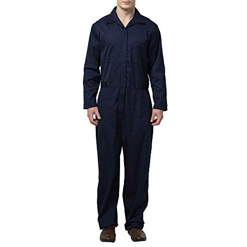 TOPTIE Zip-Front Coverall,
