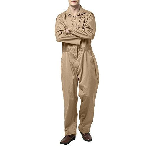Zip-Front Coverall,