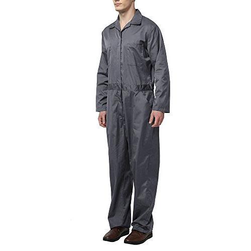 TOPTIE Regular Workwear Zip-Front 3XL