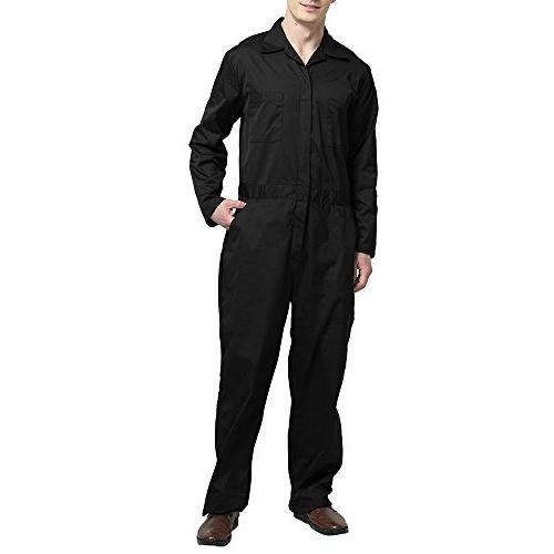 Zip-Front Black, 3XL