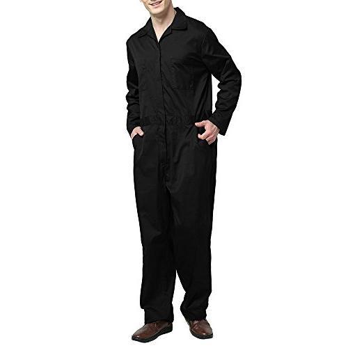 regular workwear zip front coverall