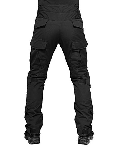 Paintball Tactical Trousers Airsoft Pants Knee