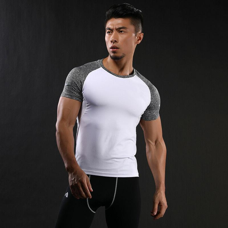Running Men's T-shirts Casual