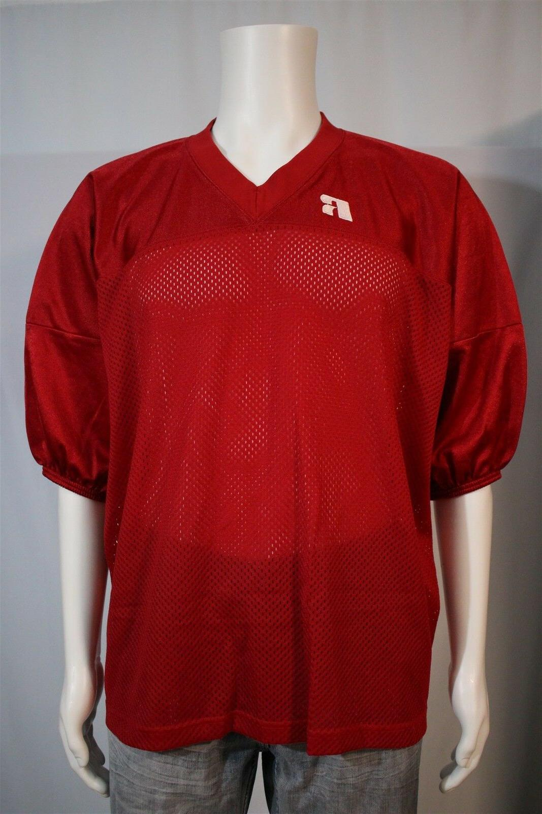s men s adult 3xl red blank