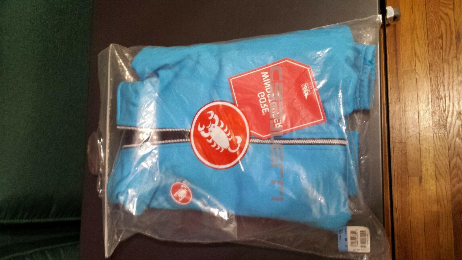 Castelli 2 cycling biking jacket size