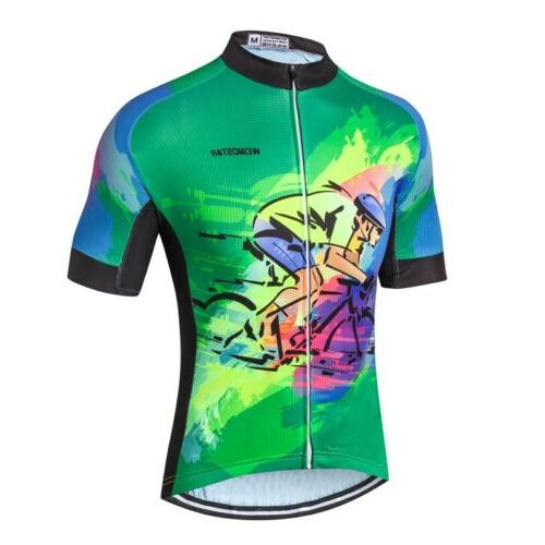 Skull Men's Clothing Bicycle Sport Tops