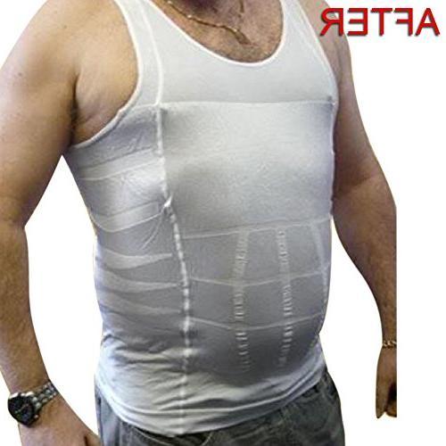 TOPTIE Slimming Shaper Shirt Fit Undershirts