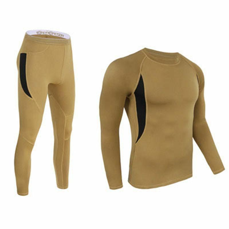 Sports Clothing Set Underwear Elastic Fleece Outdoor