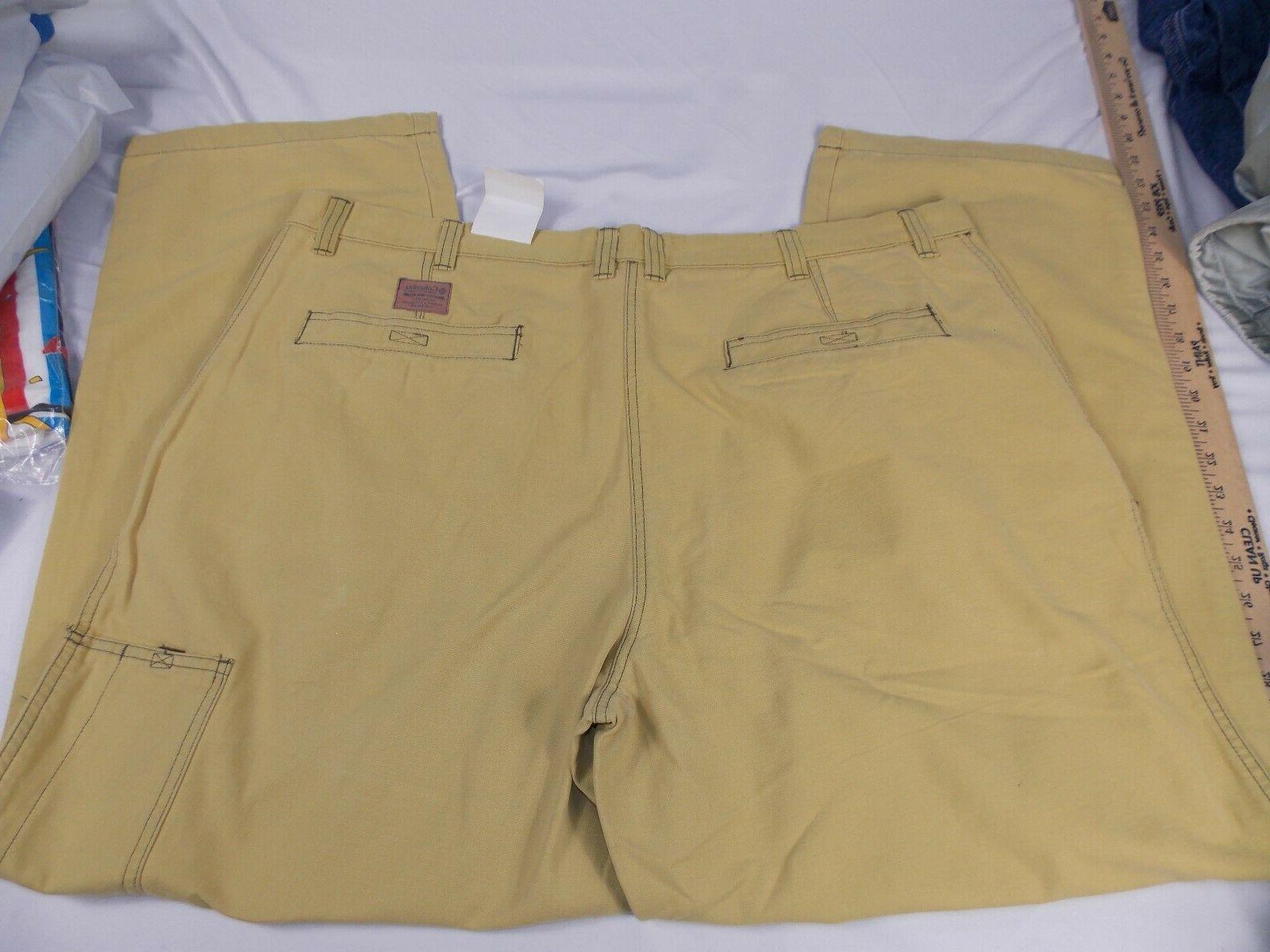 Columbia Sportswear 44 X 30 Yellow Outdoor Stonewashed Granite