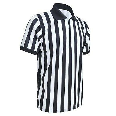TOPTIE Sportwear Men's Pro-Style Referee with Zipper