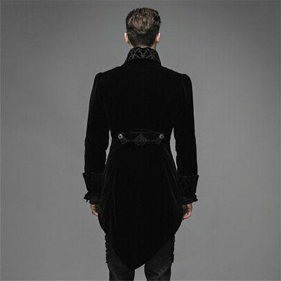 Steelmaster Steampunk Men's Tail Coat Gothic Jacket