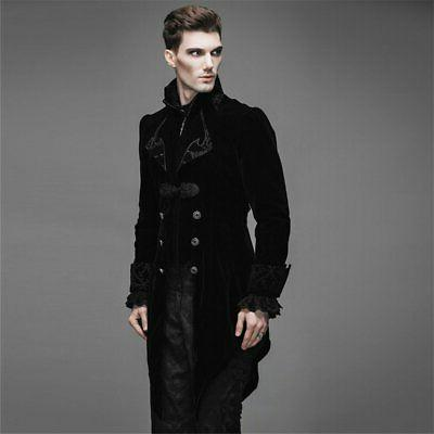 Steelmaster Steampunk Men's Swallow Tail Coat Jacket