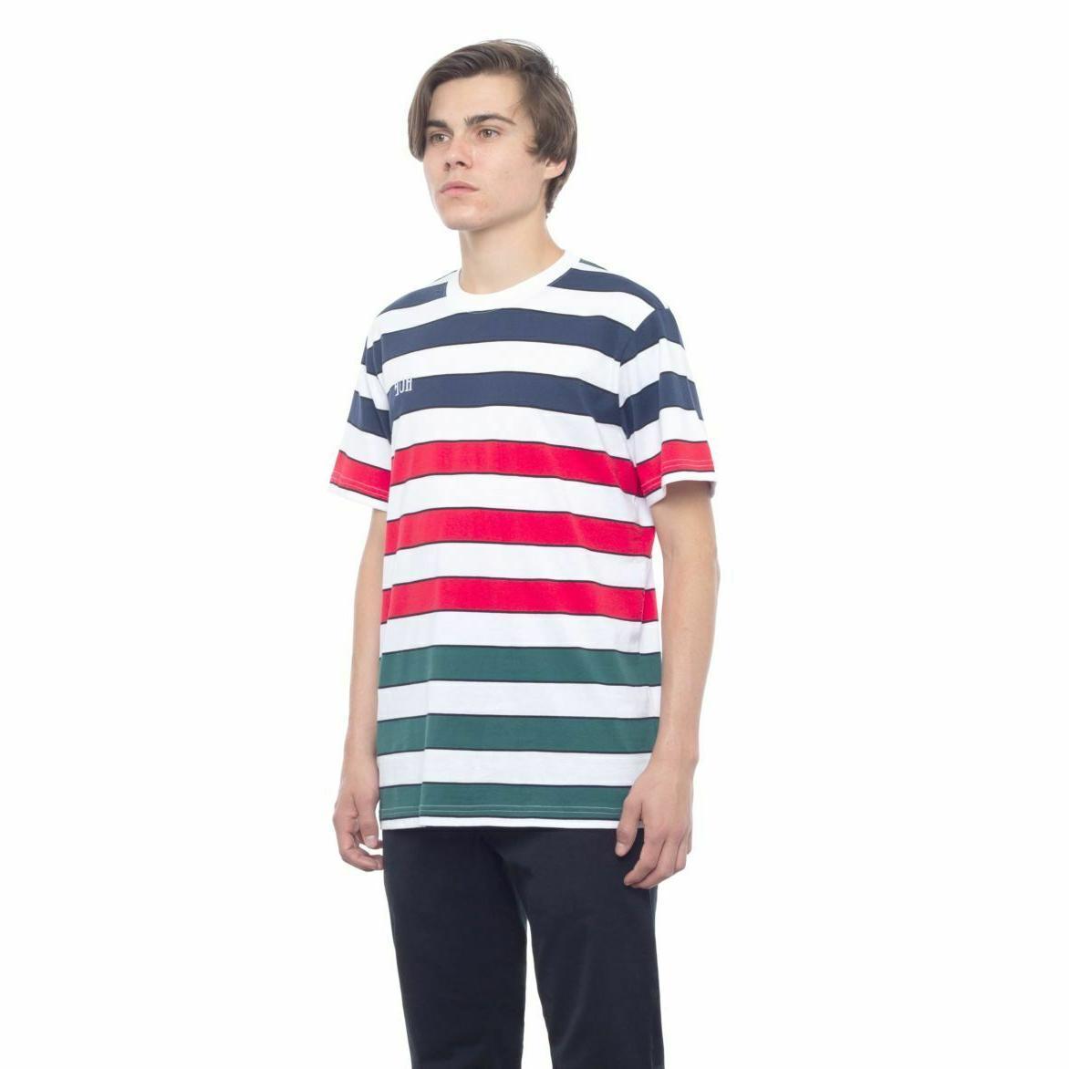 HUF Striped Mens Clothing TOP T-SHIRT