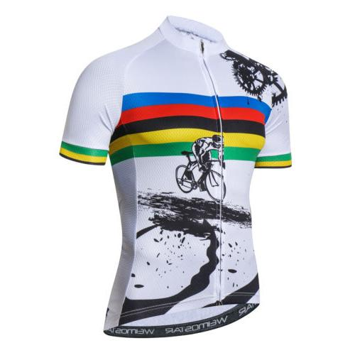 Weimostar Cycling Jersey Bicycle Short T-Shirt Bike Clothing Tops