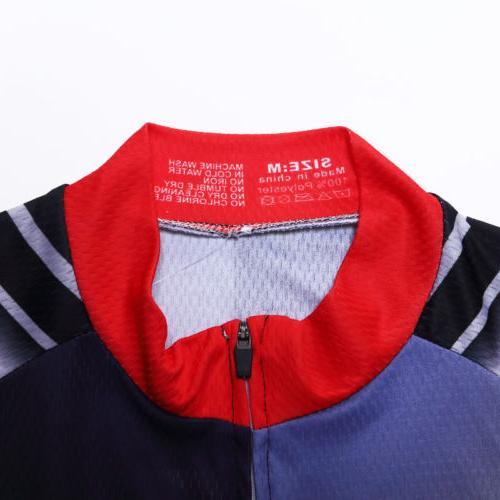 Summer Men's Jersey Shirt Bike Clothing