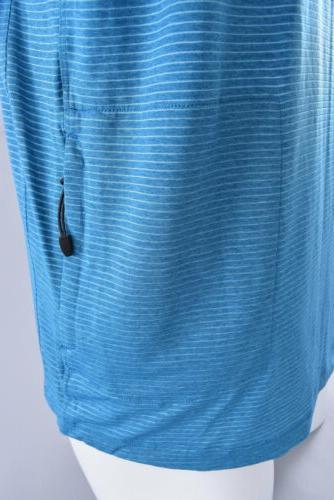 Club Bike Blue Casual Top Shirt