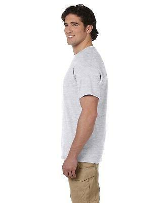 Hanes Tee Men's Short Sleeve oz 50/50 More