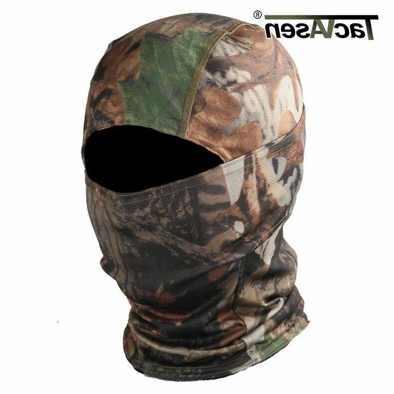 TACVASEN Full Face Mask War Game Shoot