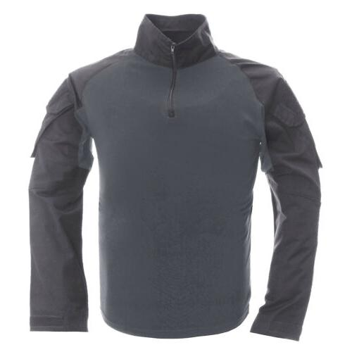 Tactical Men's Sun Protection T-Shirt Outdoor
