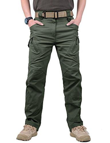 TACVASEN Men's Urban Ops Hiking Hunting Pants Trousers