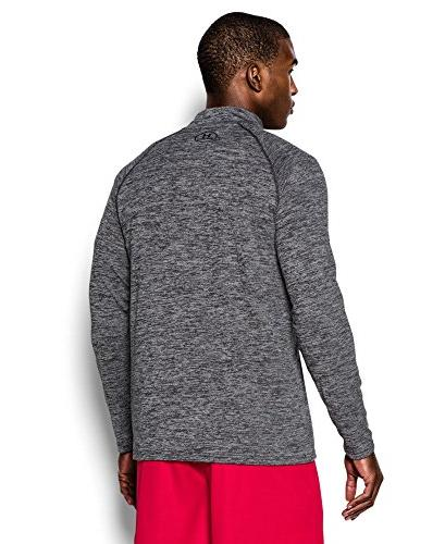 Under Men's Tech 1/4 Zip, /Graphite,