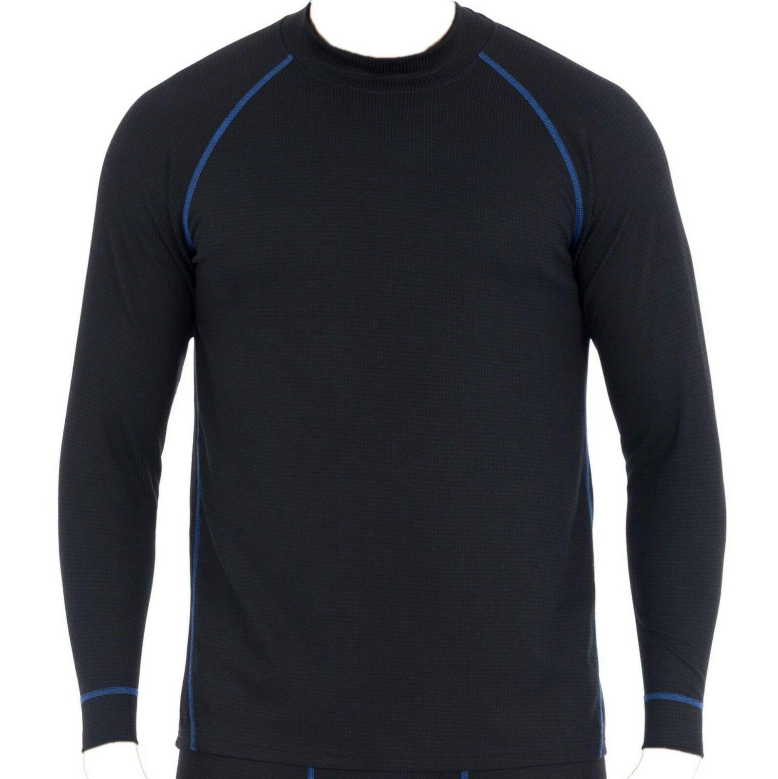 thermal shirt top performance crew tech grid