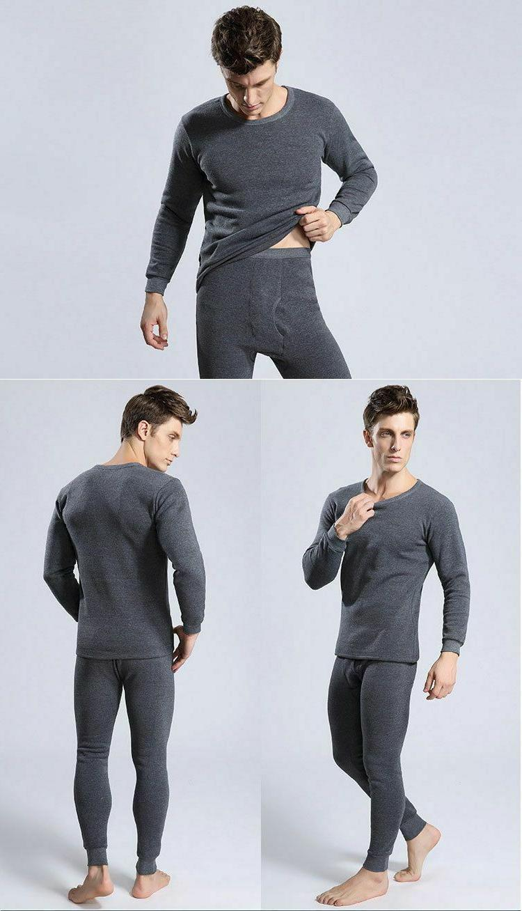 Thermal Underwear For Men Winter Thick Thermo Clothing
