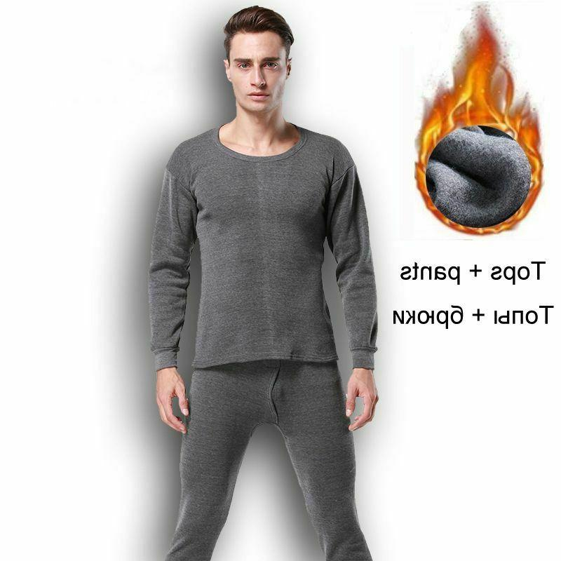 thermal underwear set for men winter clothes