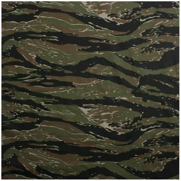 tiger stripe camo bandana 6 pack camouflage