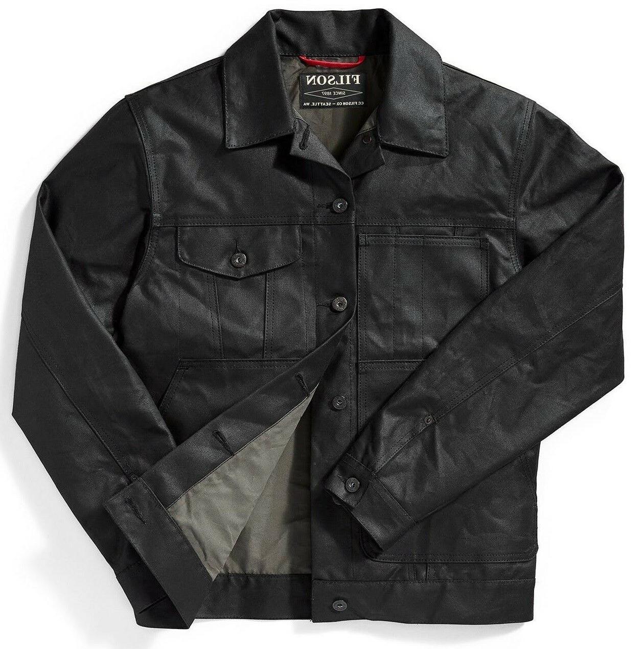 Filson Tin Lined Limited Jacket Black XS MSRP