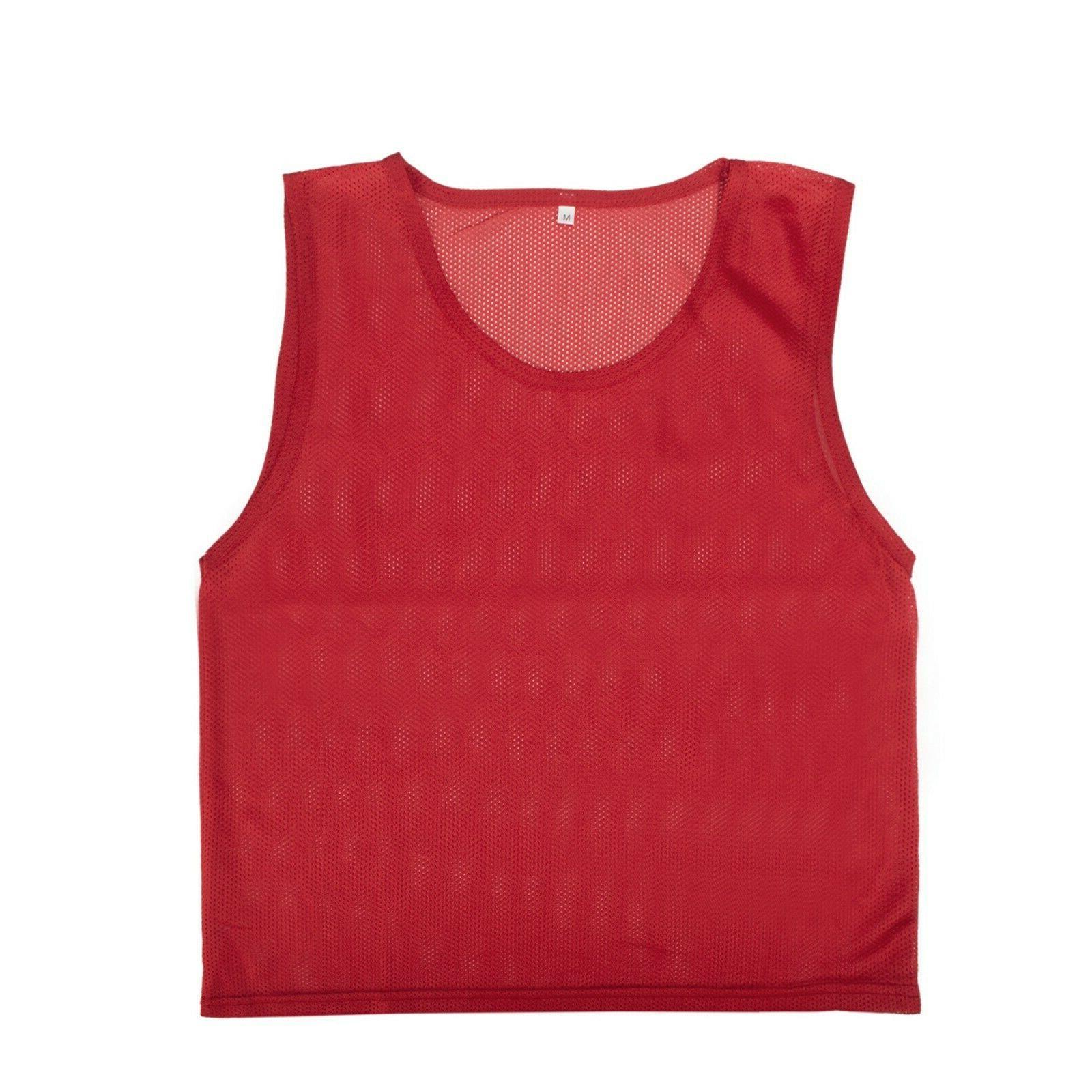 toptie adult scrimmage training vest soccer jersey