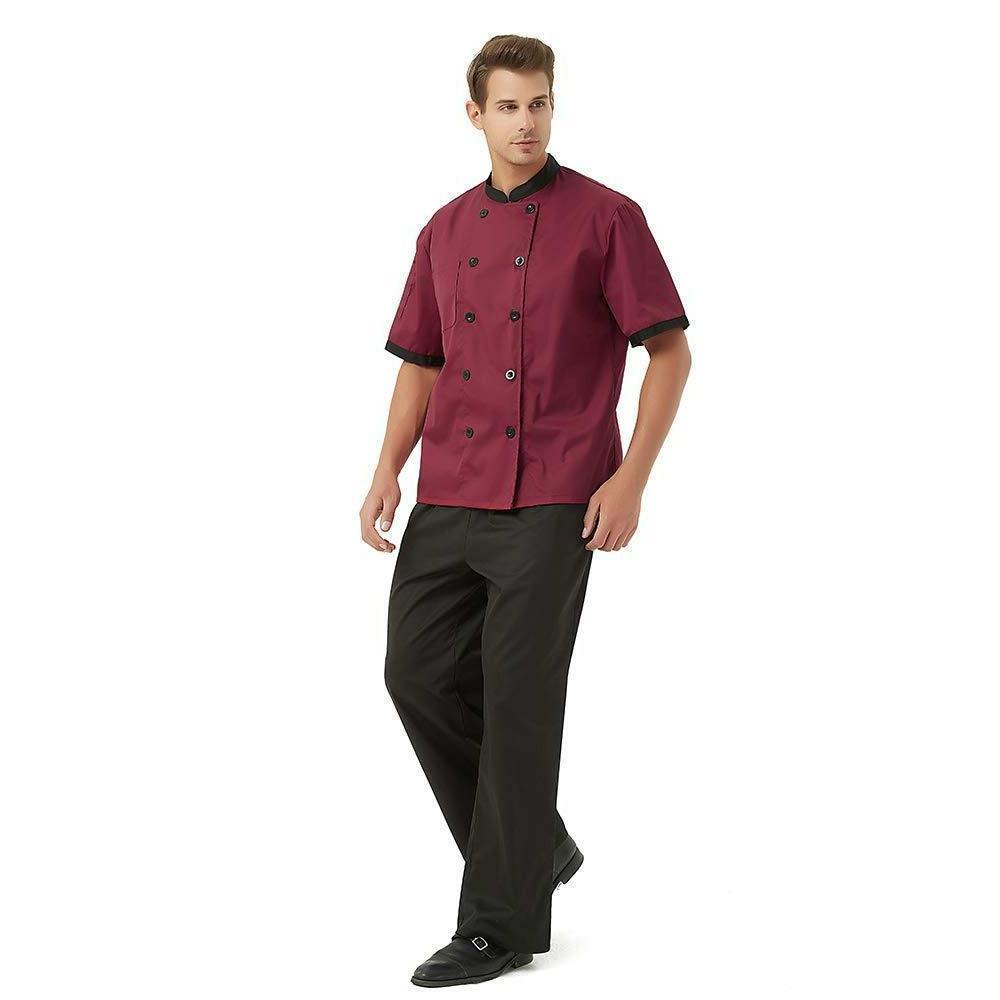 TopTie Unisex Short Sleeve Chef