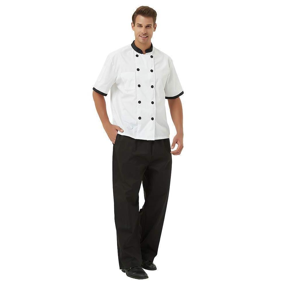 TopTie Unisex Chef Coat
