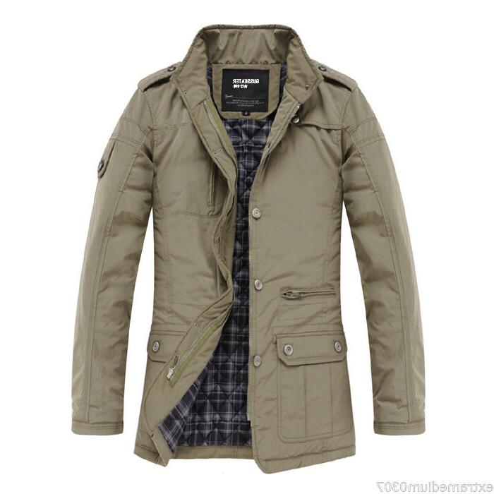 New Jacket Slim Clothes Winter Warm Overcoat Casual