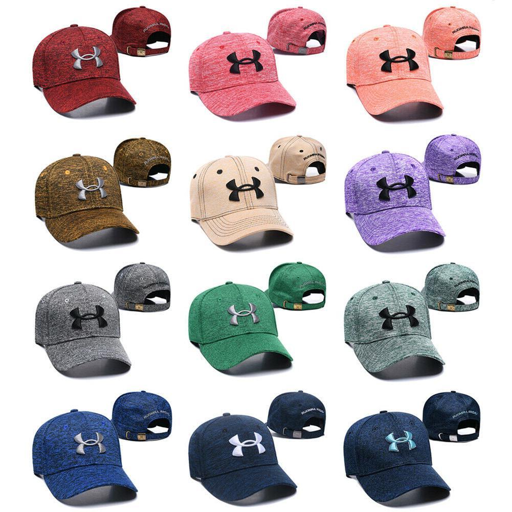 under armour stretch fit golf baseball cap