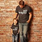 US Family Matching Outfits Daddy Baby Kid Shirt Cotton T-Shi
