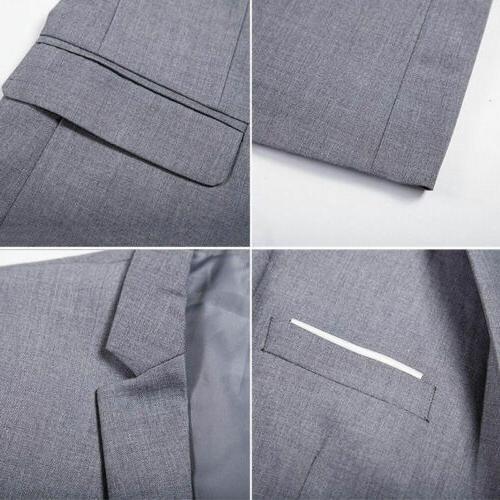 US Fashion Mens Occasion Business Coat Jacket Tuxedo