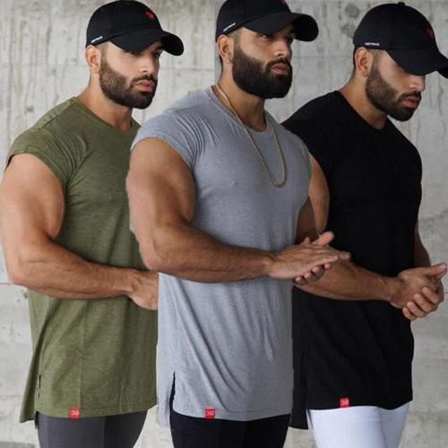 us hot gym men vest bodybuilding tank