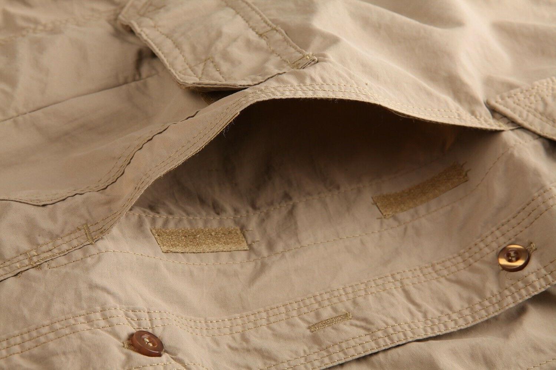 US M Multi-Pocket Shirt Mens Shirts T