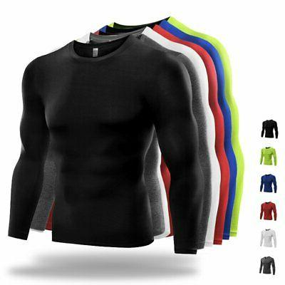 us men compression t shirt base layer