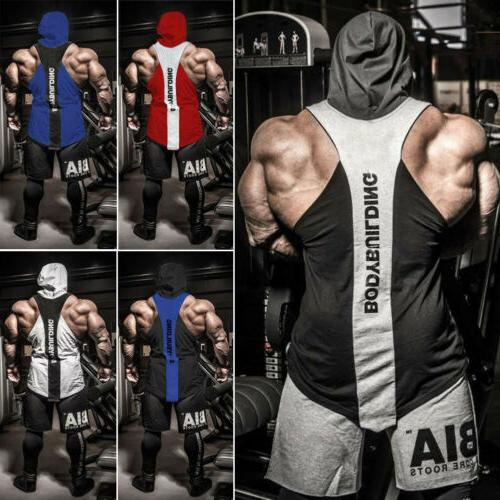 US Bodybuilding Tank Tops Shirt