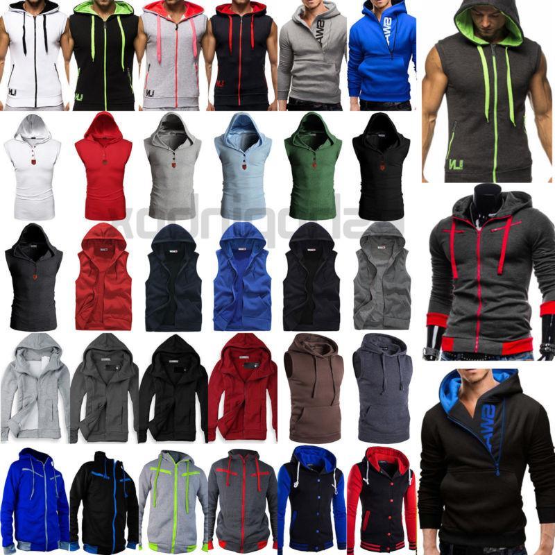us mens hoodie fitness hooded sweatshirts sport