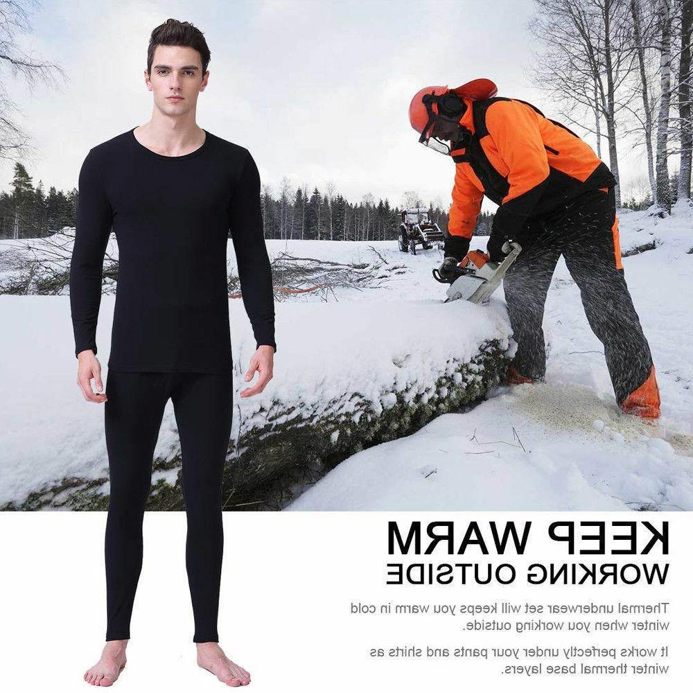 US Winter Layer Compression Johns Thermal Fleece Men's